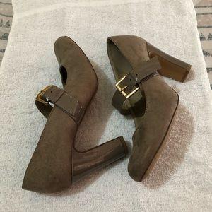 Jaclyn Smith chunky heels shoes